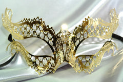 Filigree metal Vampire Diaries Mask