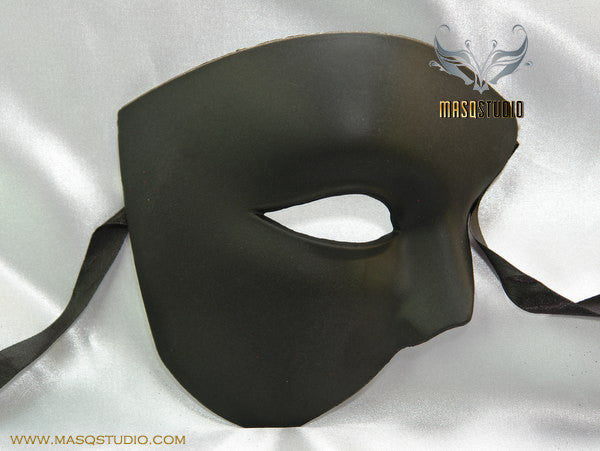 Black Masquerade Mask Phantom of the Opera