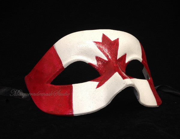 Men's British flag Patriotic Masquerade Ball Mask Great Britain United Kingdom