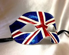 Canadian flag Patriotic Masquerade Ball Mask Canada