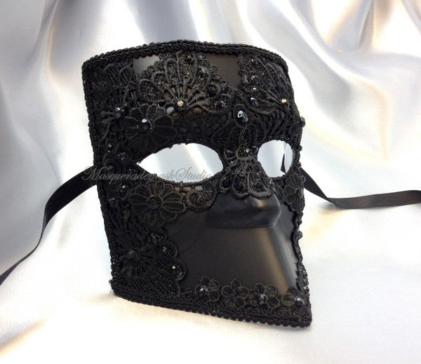 Lace Bauta Masquerade Ball Mask