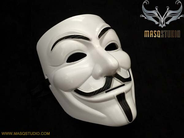 V for Vendetta Mask Guys Fawkes Anonymous V Mask