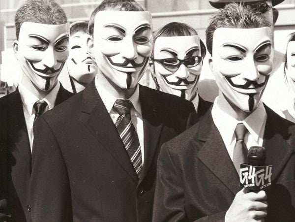 V for Vendetta Mask Guy Fawkes Anonymous V Mask