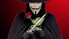 V for Vendetta Mask Mens Guys Fawkes Anonymous V Mask