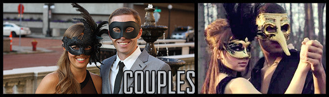 Masquerade Masks for Couples