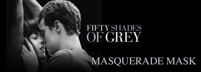 Fifty Shades of Grey Masquerade Masks for men and women