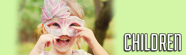 Masquerade Masks for Children and Kids