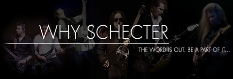 why Schecter Guitars