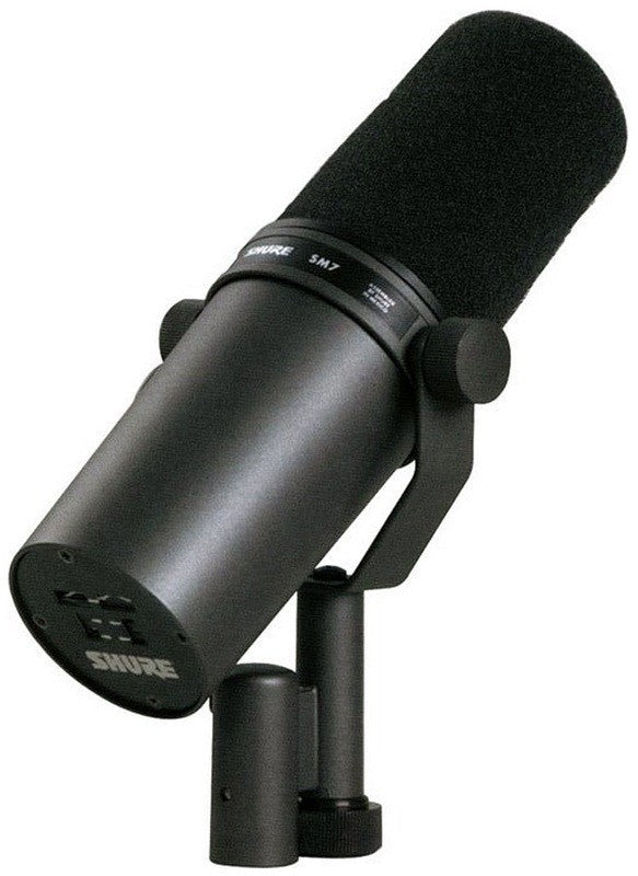 Shure SM7B- Cardioid Dynamic Studio Vocal Microphone