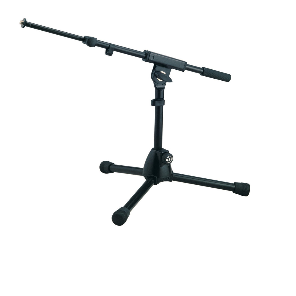 K&M-TOUR-TRIPOD-KICK Tripod Mic Stand with Weighted Short Legs
