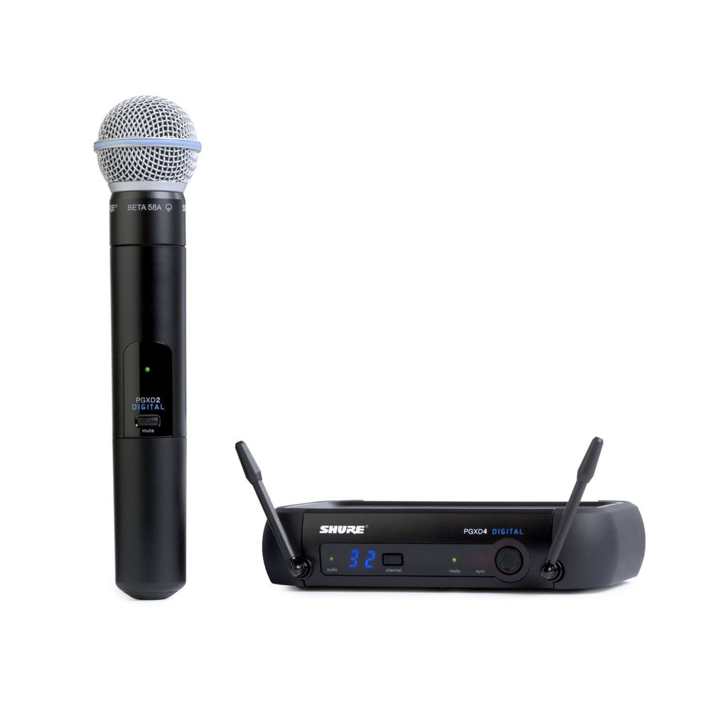 Shure PGXD24/BETA58-X8 PGX Series Wireless Microphone System with Shure BETA58