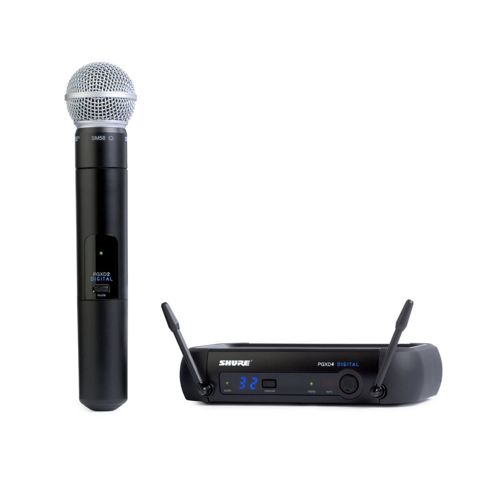 Shure PGXD24/SM58-X8 PGX Series Wireless Microphone System with Shure SM58