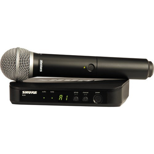 Shure BLX24/PG58-H9 Wireless Vocal System with Handheld PG58 Microphone