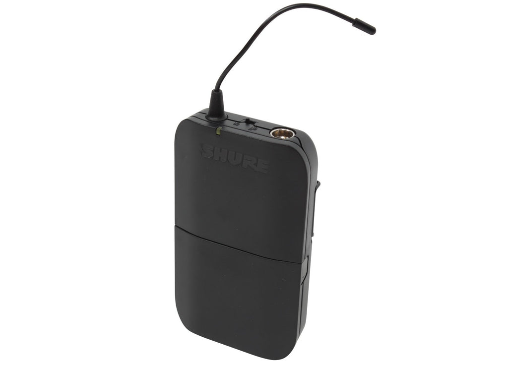 Shure BLX1-H9 Bodypack Transmitter Only - H9 Band (512-542MHz)