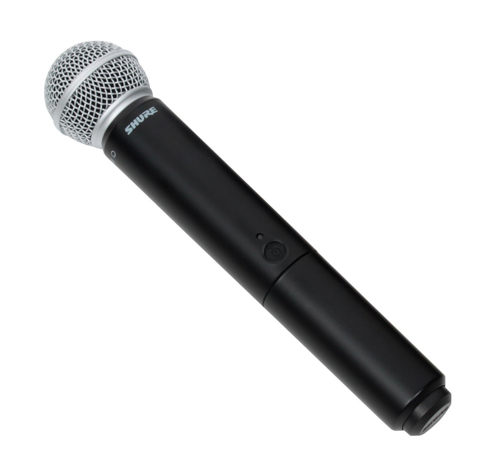 Shure BLX2/SM58 Handheld Wireless MicTransmitter Only (Band H10, 542.125-571.800 MHz)