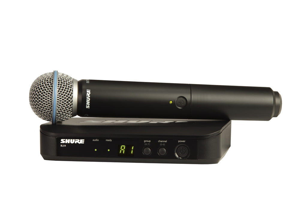 Shure BLX24/B58 Handheld Wireless System - Band J10, 584-608MHz