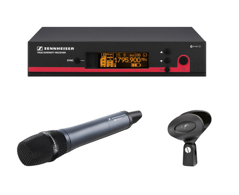 Sennheiser EM300G3-A True diversity, rack-mountable receiver with GA3 rack mount kit and NT2-3-US power supply (516-558 MHz)