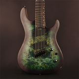 Cort KX Series KX500MS 7-String Multiscale Guitar, Star Dust Green Finish