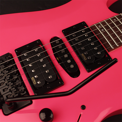 Cort X Series X250 TDP Electric Guitar, Meranti Body, EMG Pickups, Tear Drop Pink