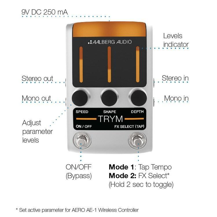 Aalberg Audio Aalberg Audio TRYM TR-1 Tremolo