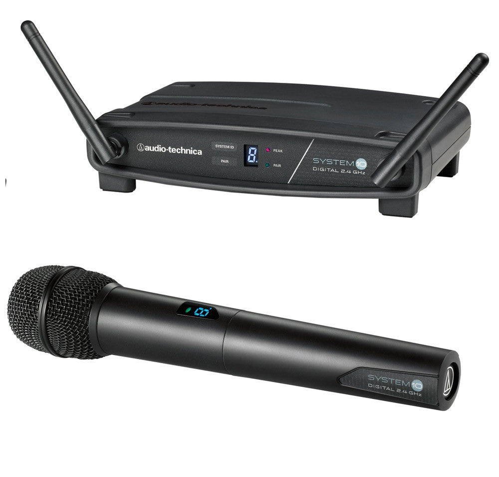 Audio-Technica ATW-1102 System 10 2.4 GHz Digital Wireless Handheld System