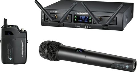 Shure GLXD14 Digital 2.4GHz Wireless Digital Instrument System, Z2