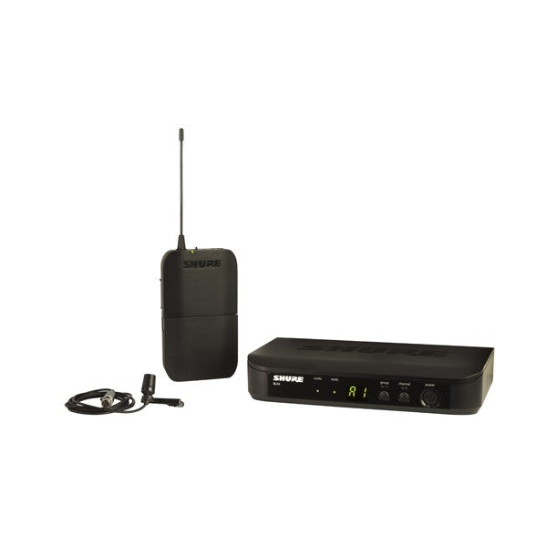 Shure BLX14/CVL-H9 BLX14 LAV SYSTEM WITH CVL (512-542MHz)
