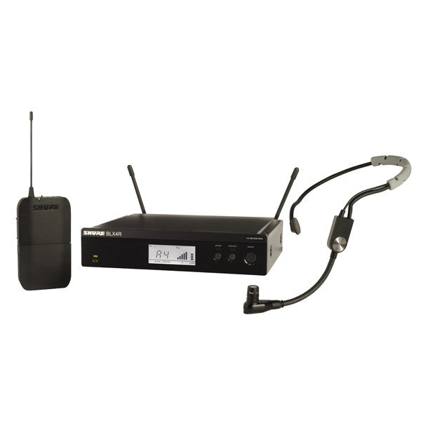 Shure BLX14R/SM35 Rackmountable Body Pack System with SM35 Headset Mic -H9 512-542MHz
