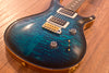 PRS Custom 24 | Aqua Smokeburst | Quilt Top | Natural Back | Factory Sealed