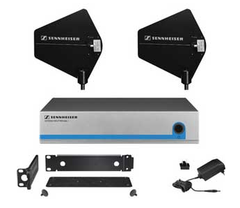 Sennheiser L2015 Charging station for two BA2015 rechargeable battery units, requires NT1-1 power supply for one station or NT3-1 power supply for up to three stations