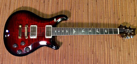 PRS CE 24 | Ruby Burst | Black Satin Neck