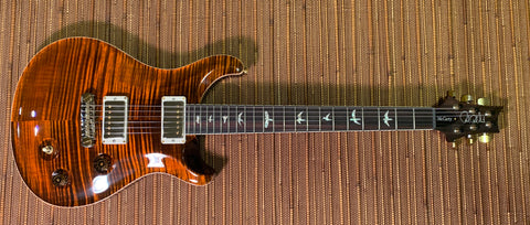 PRS Custom 24 | Pattern Thin/Ebony board | Custom Color | Faded Blue Wrap Burst