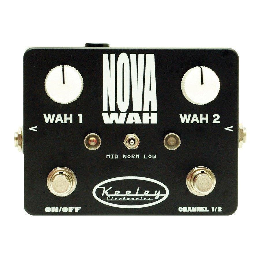 Keeley Keeley Nova Wah Dual Fixed Filter Effects Pedal