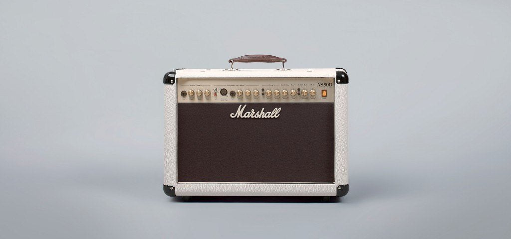 Marshall Marshall AS50D (AS50DC) 50-Watt Acoustic Combo - Cream (Limited Edition)