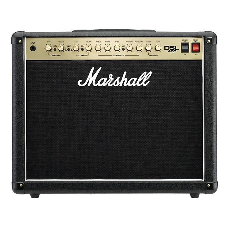 Marshall Marshall DSL40C (Dual Solo Lead) 40-watt Tube Combo Amplifier