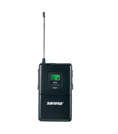 Shure SLX1 Bodypack Wireless Transmitter G4 Band