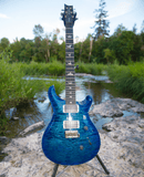 Paul Reed Smith PRS Custom 24 | Pattern Thin/Ebony board | Custom Color | Faded Blue Wrap Burst