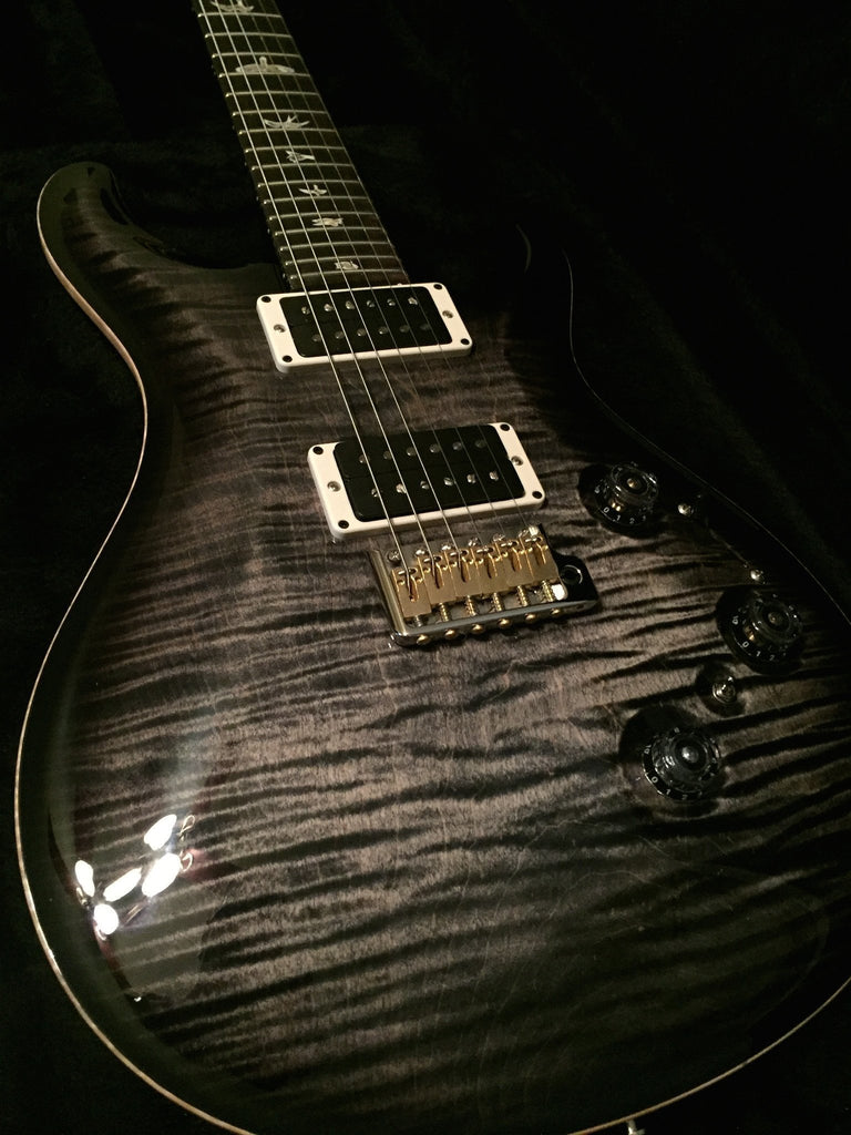 Paul Reed Smith PRS P24 | Charcoal Burst | 10 Top (single piece)