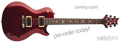 Paul Reed Smith | Santana SE Signature Guitar | Scarlet Red