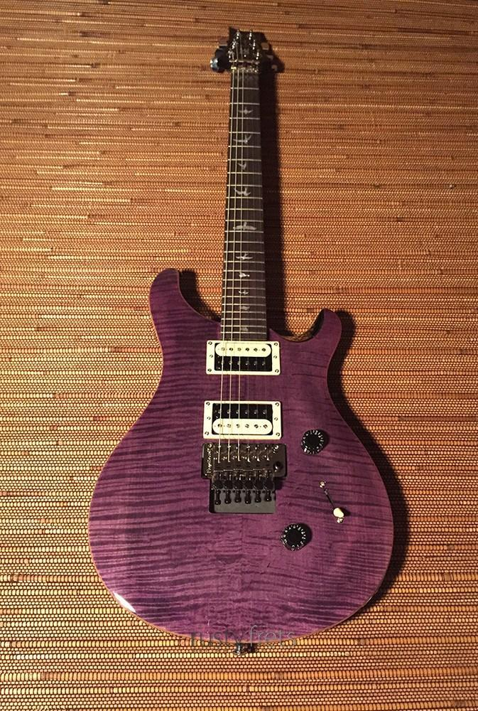 "Paul Reed Smith PRS SE ""Floyd"" Custom 24 - Amethyst"