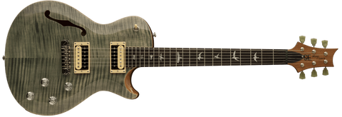 PRS Custom 24 | Forest Green Metallic | Natural Back