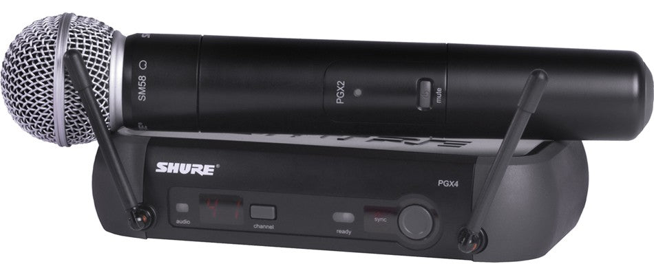 Shure PGX24 Handheld Intrument System J6 Band (572 - 590 MHz)