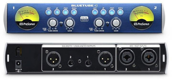 Presonus BlueTube™ DP V2 2-Channel Mic/Instrument Tube Preamp