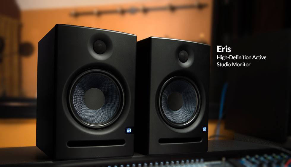"Presonus Presonus Eris E8 2-Way 8"" Studio Monitor (SINGLE)"
