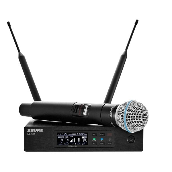 Shure QLXD24/B58-G50 Handheld Wireless Microphone System