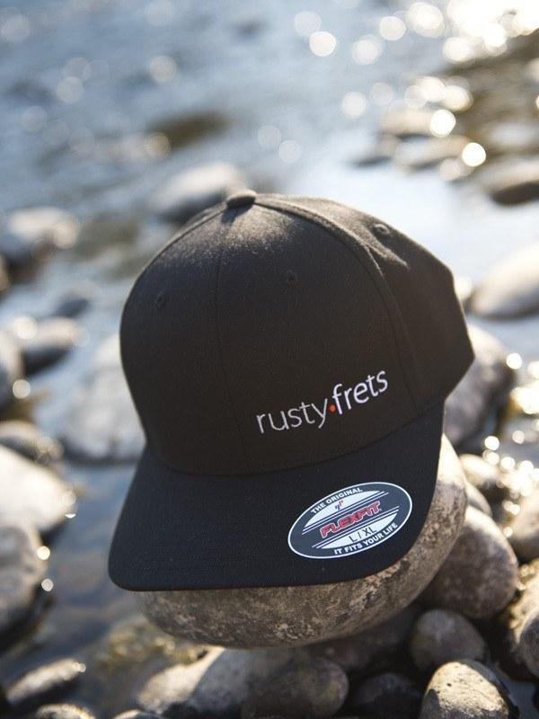 Rusty Frets Guitar Shop Rusty Frets Guitar Shop Hat | Black | Flexfit
