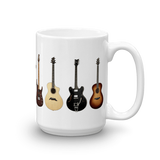Rusty Frets Guitar Shop 15oz Rusty Frets Guitar Shop Mug