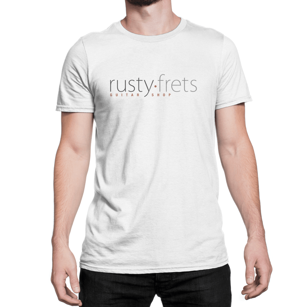 Rusty Frets Guitar Shop Rusty Frets Logo Shirt