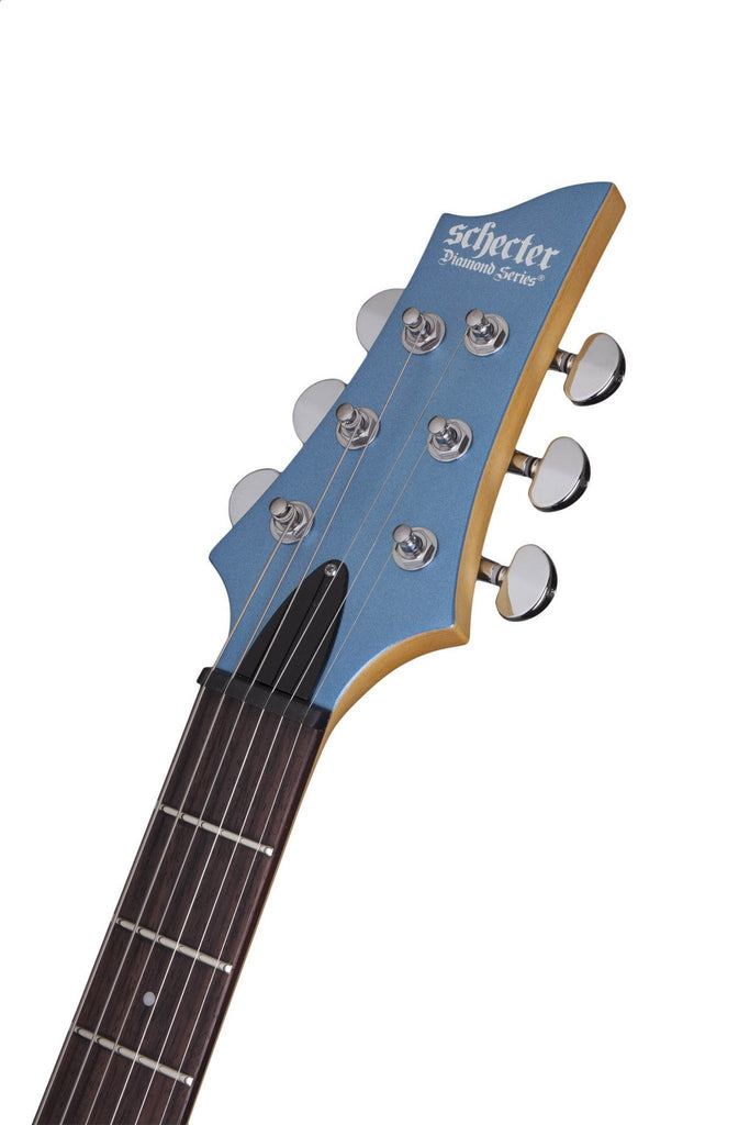 Schecter Guitars Schecter C-6 Deluxe | Satin Metallic Light Blue (SMLB)