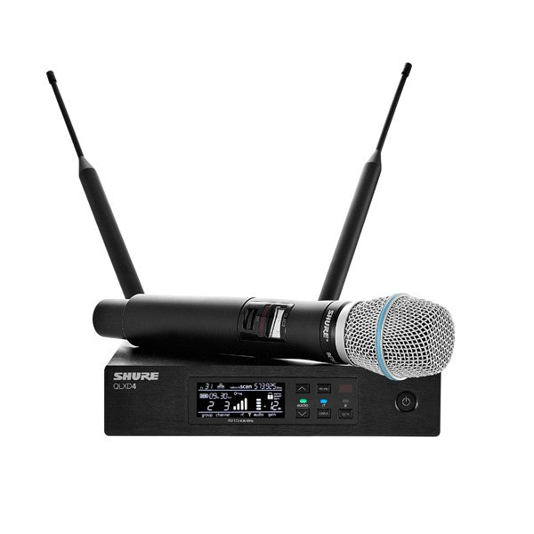 Shure QLXD24/B87A-G50 Handheld Wireless Microphone System (G50)